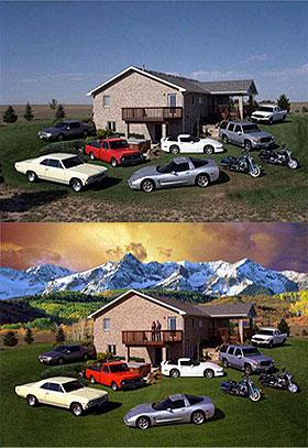 Digital manipulation sample images